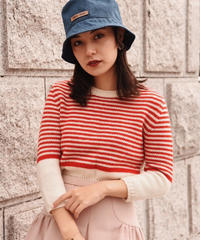 miu miu  / vintage border knit.