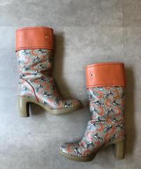 CELINE/vintage horse carriage design boots