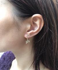 Chloe/ vintage  ribbon  pierce.  501010H(U)