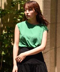 agnes b. /green design no sleeve tops.