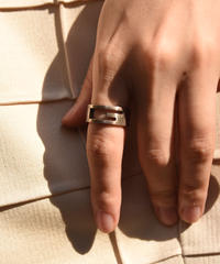 GUCCI/vintage open G ring.(M)