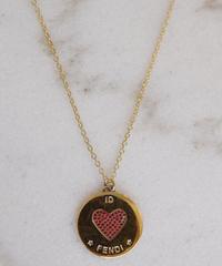 FENDI/ coin motif charm