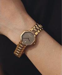 Christian Dior/ vintage gold quartz.