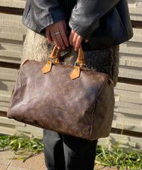 "Louis vuitton / monogram ""Speedy 35"" hand bag."