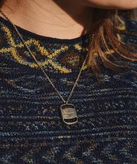Salvatore Ferragamo / vintage vara gold necklace.