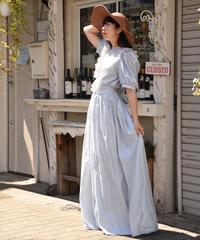 vintage /blue cinderella dress one-piece.