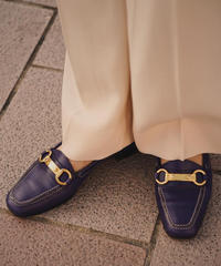 PRADA / vintage purple loafer.