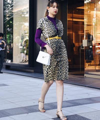 MOSCHINO / leopard OP