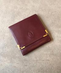 Cartier/vintage logo coin case.(U)