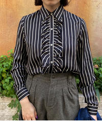 Ralph Lauren/ vintage stripe shirt.