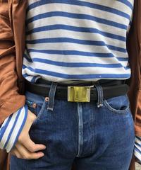 BURBERRY /logo simple belt. 417010A