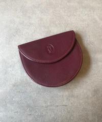 Cartier/vintage round coin case.