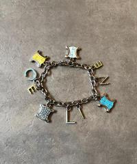 CELINE/vintage logo motif  bracelet.