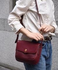 Cartier/vintage bi-color &trinty design shoulder bag.②
