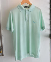 FRED PERRY/  cotton polo shirt-light blue.