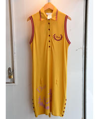 Christian Dior/sleeve less polo shirt OP.