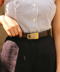 Christian Dior/ vintage logo mix belt.51303C