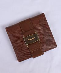 "Salvatore Ferragamo / ""vara"" bi-fold wallet."