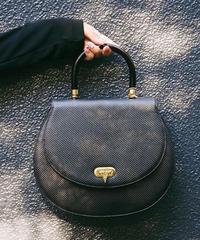 VALENTINO/round pvc hand bag.