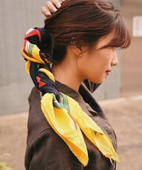 MOSCHINO/ vintage silk scarf.