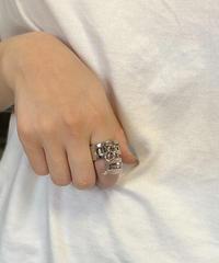Chloe/ vintage  lock&key motiflogo ring.  501011H