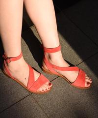 PRADA / vintage suède sandal.
