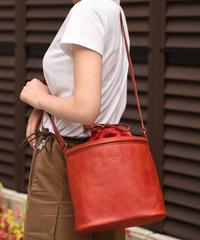 Courreges/vintage leather purse shoulder bag.