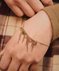 Chloe/vintage design gold bracelet.