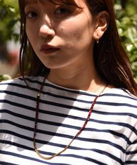 ISABEL  MARANT / vintage beads  design necklace.
