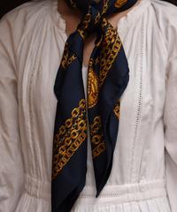 Christian Dior/vintage  chain motif silk scarf.