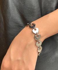Salvatore Ferragamo/vintage heart design  bracelet.