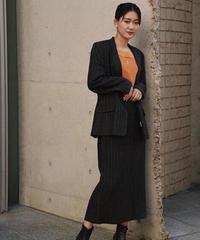 LAURA ASHLEY/ vintage jacket× skirt set up.