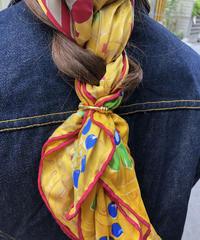 HERMES/vintage gold scarf ring. 430015T