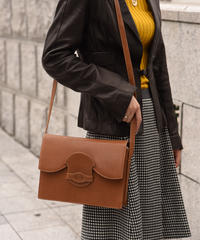 VALENTINO GARAVANI/vintage  leather shoulder bag.
