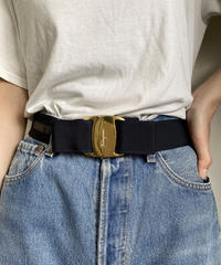 Salvatore Ferragamo/vintage vara ribbon belt.416015 H
