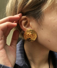 CHANEL/vintage coco earring .  4290030C