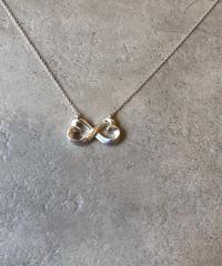 Tiffany&Co./vintage design motif necklace.