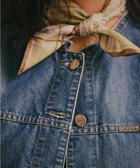 CELINE / vintage check design scarf