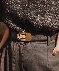 CELINE / vintage horse motif belt