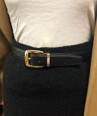 GIVENCHY/vintage leather belt.416008 C