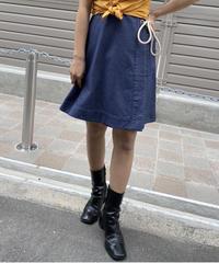 MAXMARA/ rope ribbon lap skirt.  420007 A