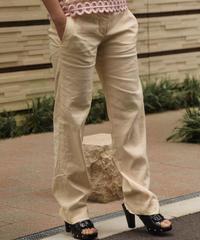 Chloe / vintage linen pants.