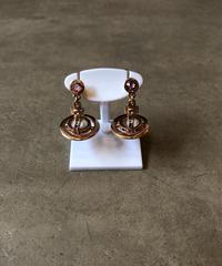 Vivienne Westwood/vintage orb motif silver  pierce.