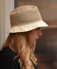 PRADA/vintage mesh logo  bucket hat.