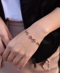 Chloe/vintage triple ribbon bracelet.(P)5