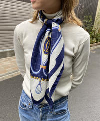 Cartier / vintage silk scarf. 423009 A