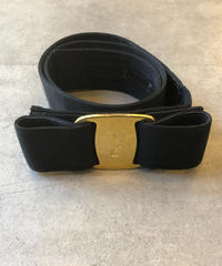 Salvatore Ferragamo/vintage vara motif l  belt.