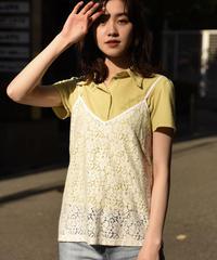Maxmara  / simple lace camisole.