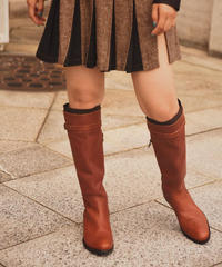 Max&Co. /vintage leather long boots