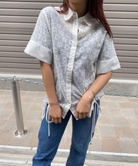 SEE BY CHLOE/lace design blouse.422009T